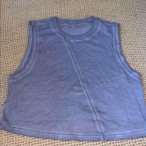 GREY muscle workout tank